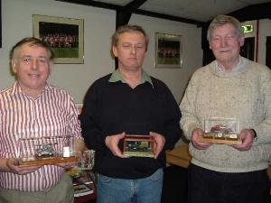 (left to right) Alan Simpson, Paul Rowley and Bill Alexander.